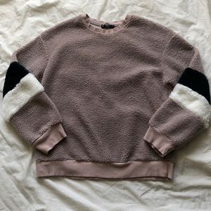 Sherpa Crewneck Sweater